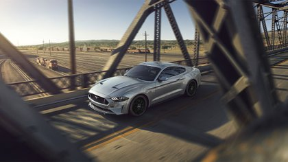 Salvaje: el V8 del Mustang ahora tiene 466 caballos (Prensa Ford)