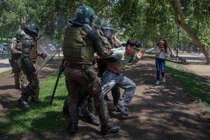 Las protestas han redundado en una represión feroz por parte de las fuerzas de seguridad