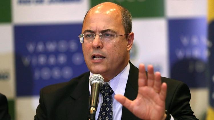 El gobernador de Río de Janeiro, Wilson Witzel. Foto: AP