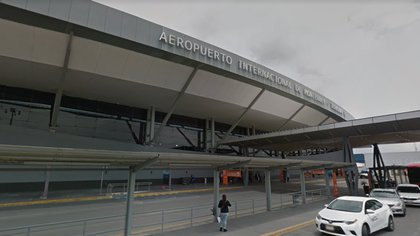 Aeropuerto Internacional de Monterrey (Foto: Google maps)