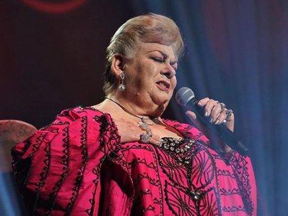 La cantante de regional mexicano afirma que ya está cansada de estar encerrada y se encuentra aburrida  (Foto: Instagram Paquita la del Barrio)