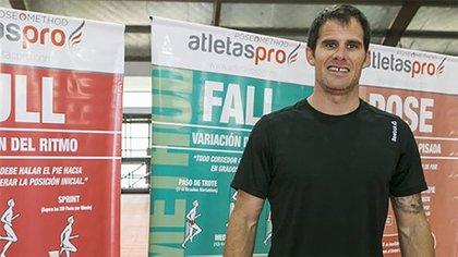 Miguel Ángel Paz tiene 40 años y es personal trainer