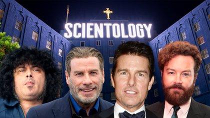 Cedric Bixler-Zavala (ex Mars Volta), John Travolta, Tom Cruise y Danny Marsterson