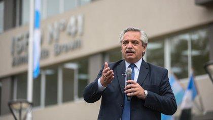 Alberto Fernández avaló la idea de diferir la aplicación de la segunda dosis de la vacuna contra el coronavirus