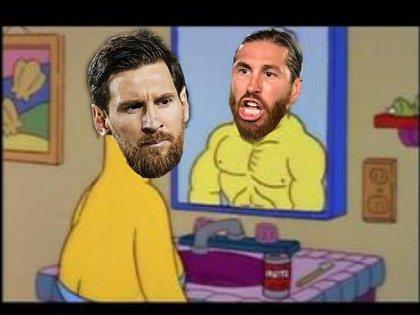 La comparación entre Messi y Ramos