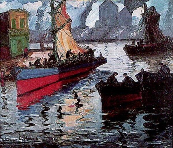 Embarcaciones, Quinquela Martín