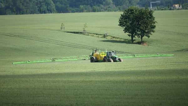 Cien millones de kilos de glifosato se usan cada año en los cultivos en EEUU (Getty Images)