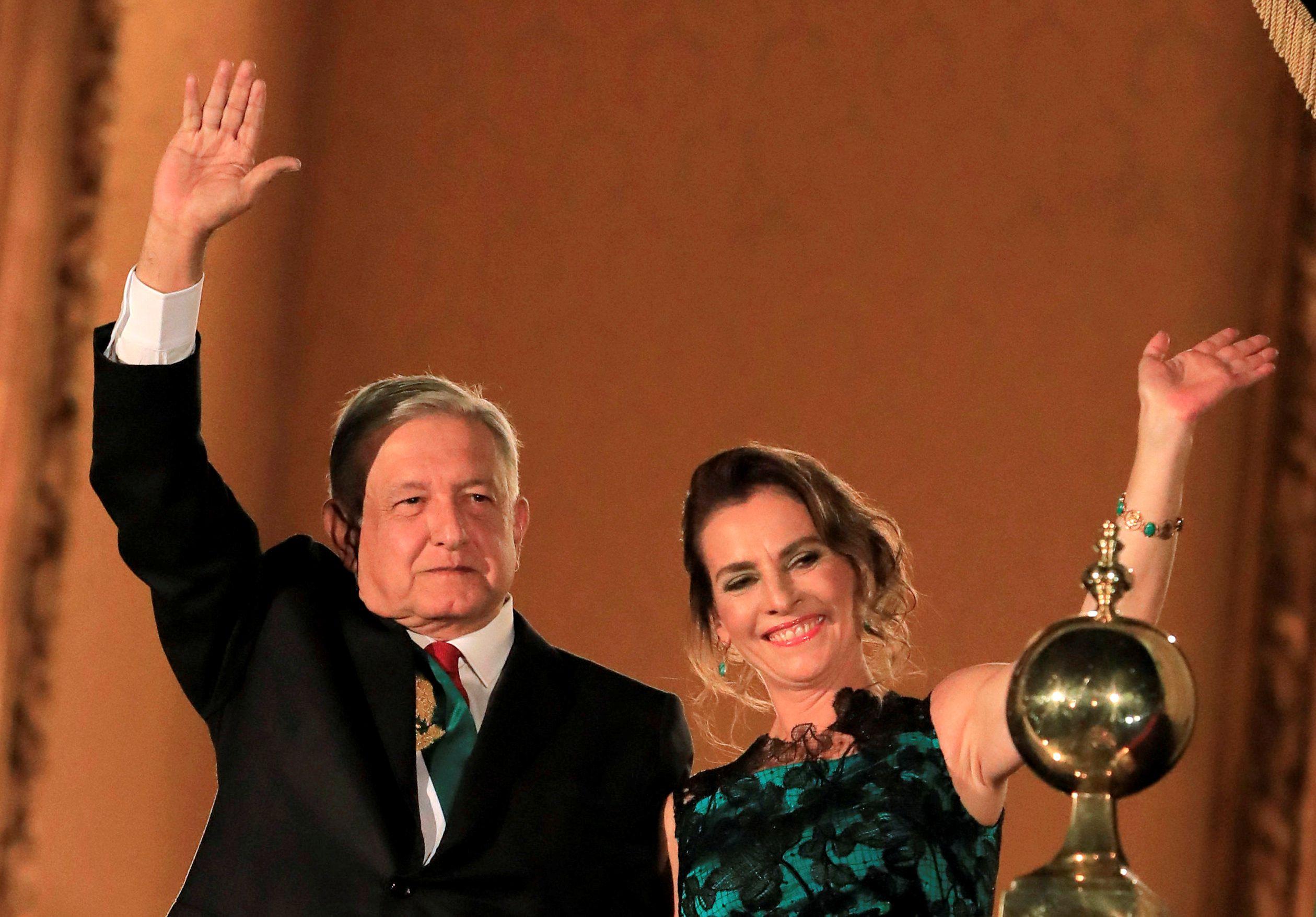 Beatriz Gutiérrez tiene un hijo con el presidente López Obrador (Foto: Reuters / Carlos Jasso)