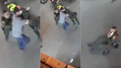 230 policías resultaron heridos por hacer cumplir las medidas de bioseguridad en Colombia