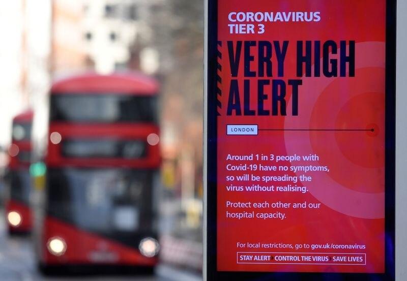 """En Londres se registró una variante del SARS-CoV-2, además de propagarse rápidamente, se está convirtiendo en la forma """"dominante"""""""