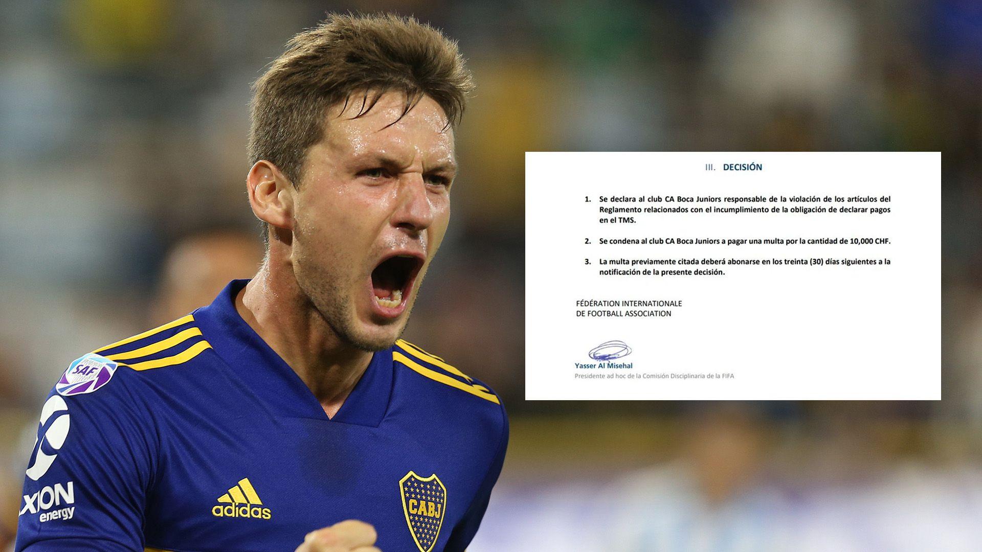Franco Soldano y la deuda de Boca Juniors por su pase