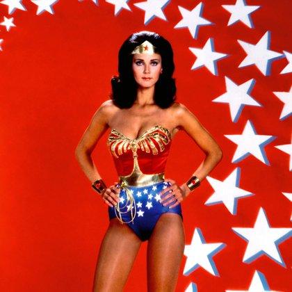 Lynda Carter interpretó a la Mujer Maravilla en la serie de TV entre 1975 y 1979