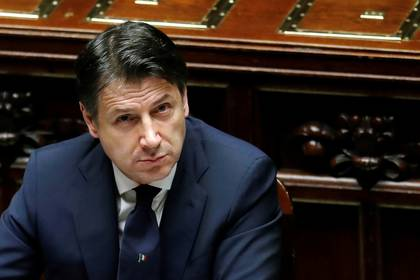 Giuseppe Conte, primer minitro italiano