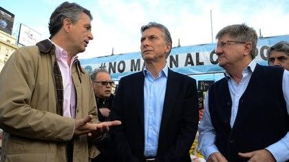 Mauricio Macri junto a Luis Miguel Etchevehere<br> Veronica Jacobson 162