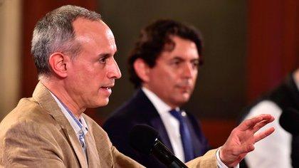 """López-Gatell aseguró que lo publicado alrededor de la respuesta que tuvieron las autoridades nacionales de salud simplemente son """"francas mentiras"""" (Foto: EFE)"""