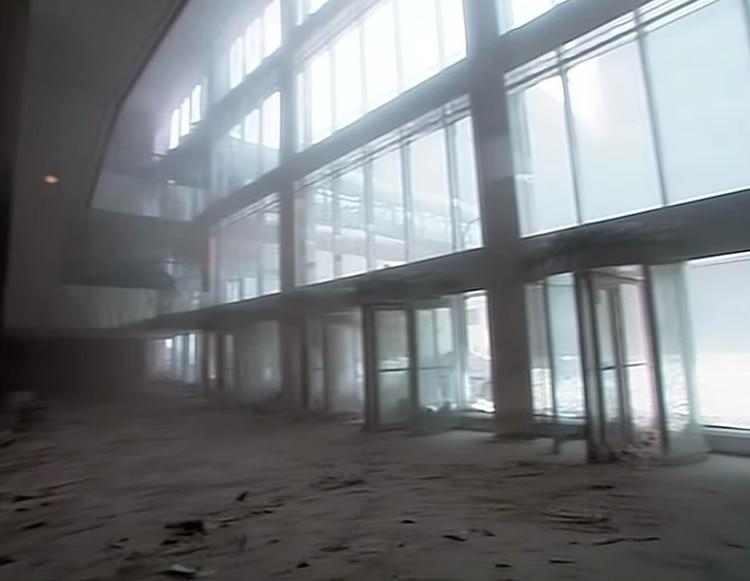 El polvo blanco cubrió calles y edificios (Foto: captura de video CBS/ Mark Laganga)