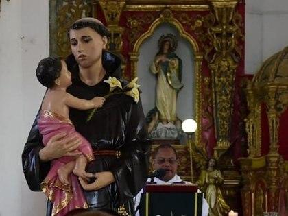 El San Antonio de Padua es el santo patrono del municipio de Soledad, departamento de Atlántico.