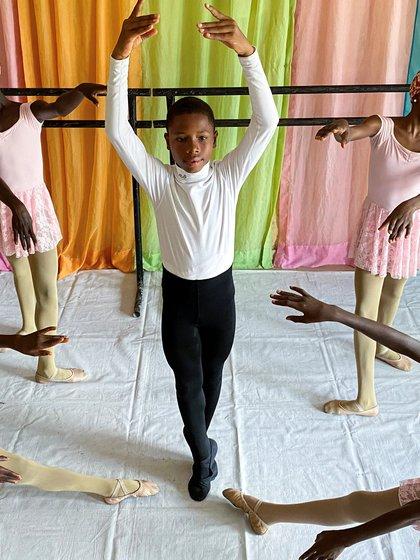 Anthony Mmesoma Madu se volvió viral durante el verano (Foto: REUTERS/Seun Sanni)