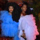 NEW YORK, NEW YORK - SEPTEMBER 06: TK Quann and Cipriana Quann attend as Harper's BAZAAR celebrates