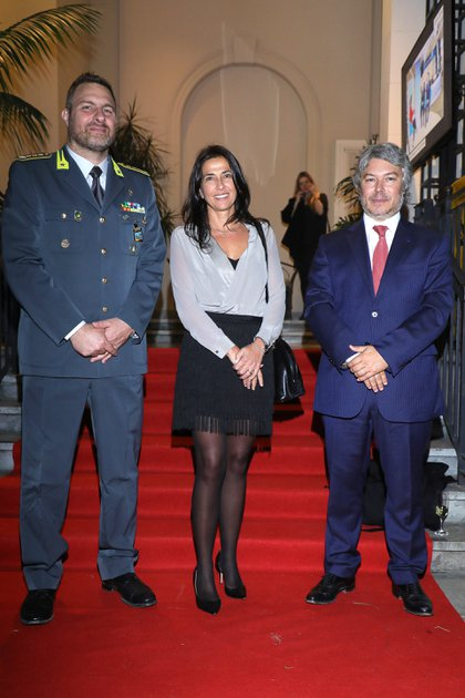 María Eugenia Talerico, vicepresidente de la Unidad de Información Financiera (UIF); y Mariano Federici, presidente de la UIF