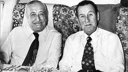 Héctor Cámpora y Juan Domingo Perón