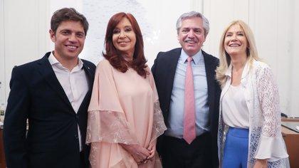 Foto archivo: Alberto Fernández en la asunción de Axel Kicillof (Presidencia de la Nación)