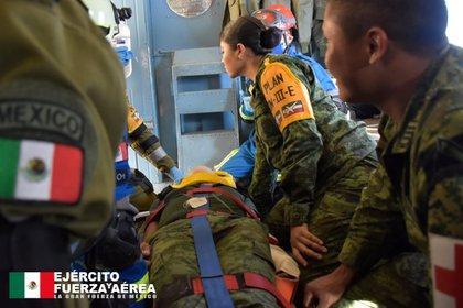 Médico militar  Foto: SEDENA