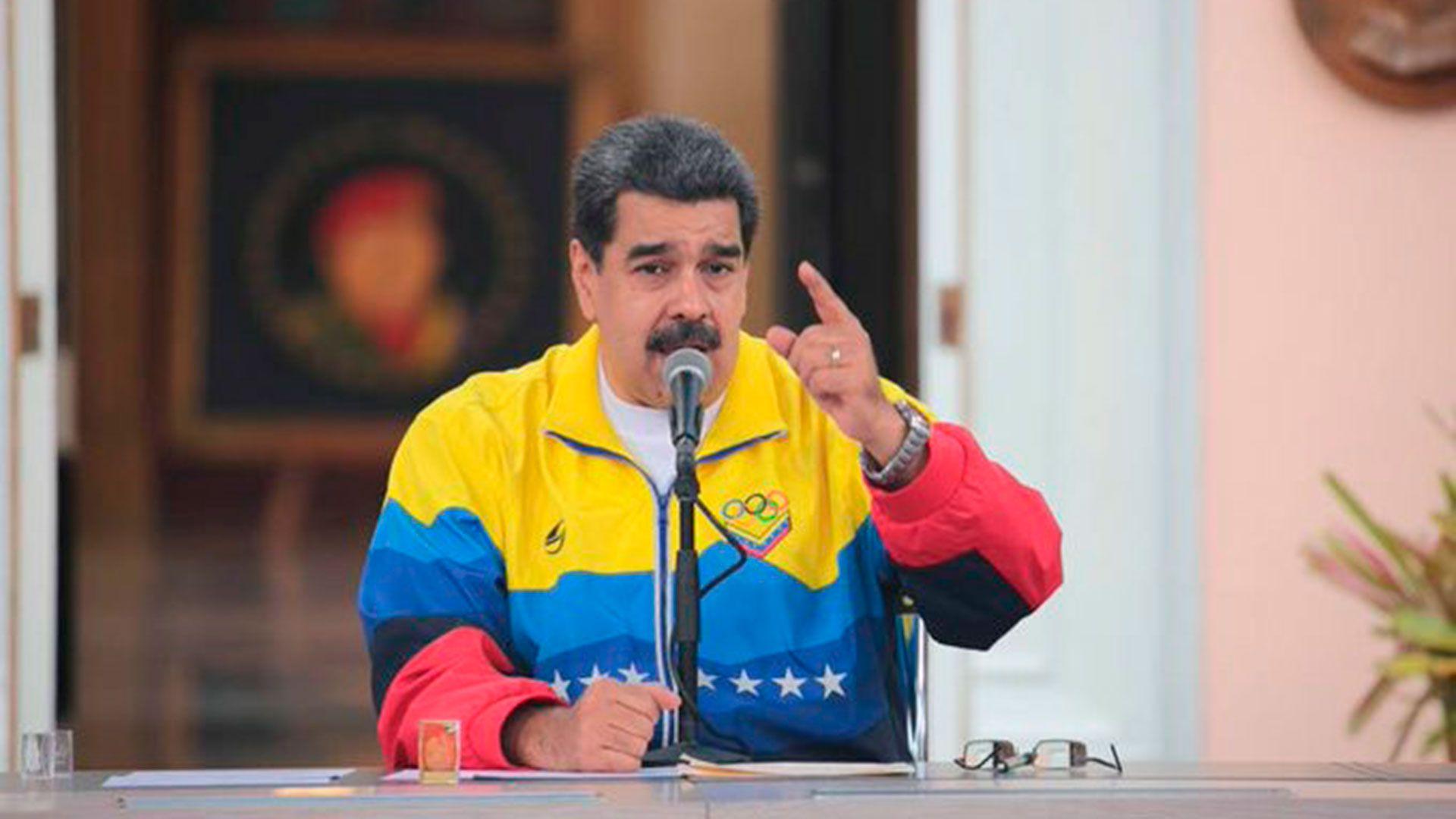 El dictador venezolano Nicolás Maduro
