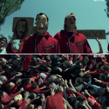 """(Foto: Netflix/ """"La casa de papel"""")"""