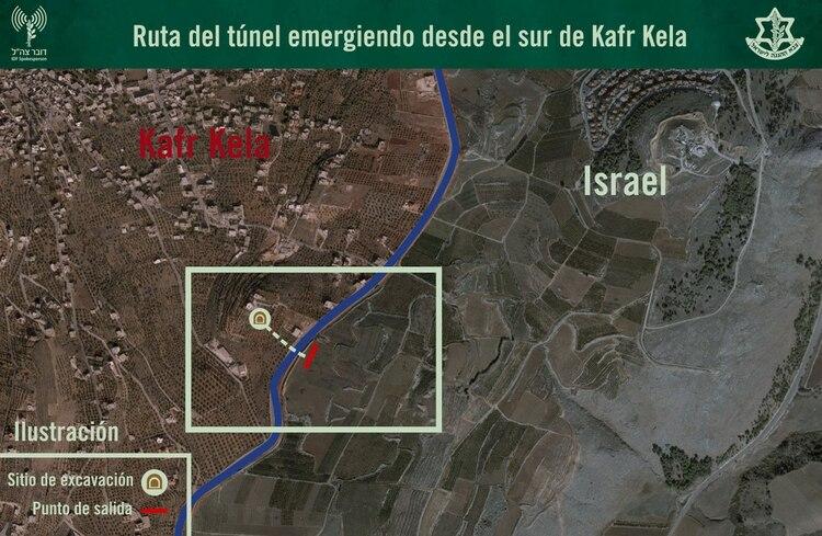 El mapa del túnel