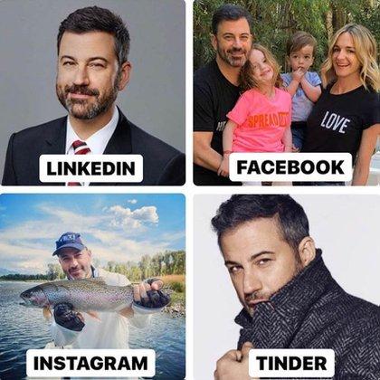 El presentador de televisión estadounidense Jimmy Kimmel