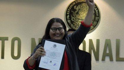 La senadora pidió licencia en su cargo para enfocarse en la secretaría general de Morena (Foto: Cuartoscuro)