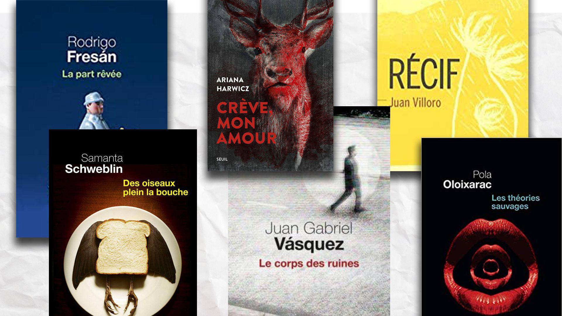 Portadas de libros traducidos por Isabelle Gugnon