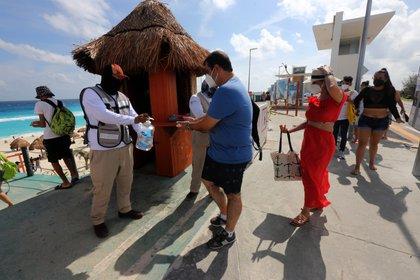 México estima la llegada unos 33,1 millones de turistas internacionales, quienes dejarán divisas por unos USD 16,000 millones. (Foto: EFE)