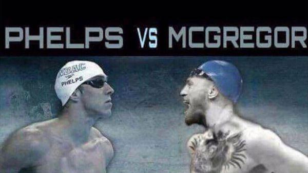Michael Phelps desafió a Conor McGregor a una competencia de natación
