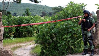 Los restos humanos hallados en Zapopan presentan entre tres días y un año de evolución cadavérica (Foto: AFP)