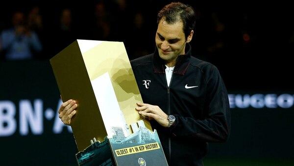 Desde 2012 que Roger no era líder del ranking (Reuters)