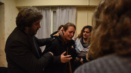 Mariana Gómez, tras el veredicto (Franco Fafasuli)