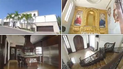 """Sala de cine, capilla y jacuzzi: al interior de la lujosa mansión del  """"Chino"""" Ántrax, el sicario que traicionó al Cártel de Sinaloa y lo pagó de  la peor forma - Infobae"""
