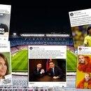 16/02/2021 El Camp Nou, estadio del FC Barcelona, en noche de partido DEPORTES FCB