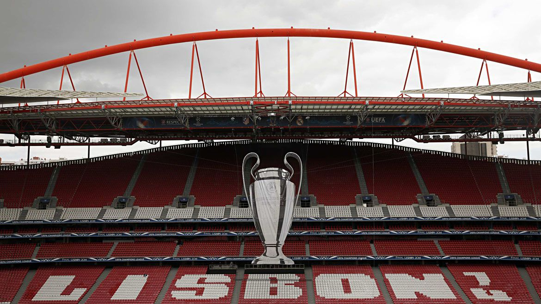 El estadio José Alvalade del Sporting de Lisboa podría ser la sede de la definición de la Champions League. Foto: Reuters