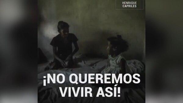 El crudo video de Capriles