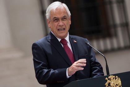 El presidente de Chile, Sebastián Piñera (EFE/Alberto Valdés/Archivo)