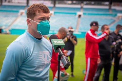 """El boxeador mexicano Saúl """"Canelo"""" Álvarez. EFE/ Giorgio Viera/Archivo"""