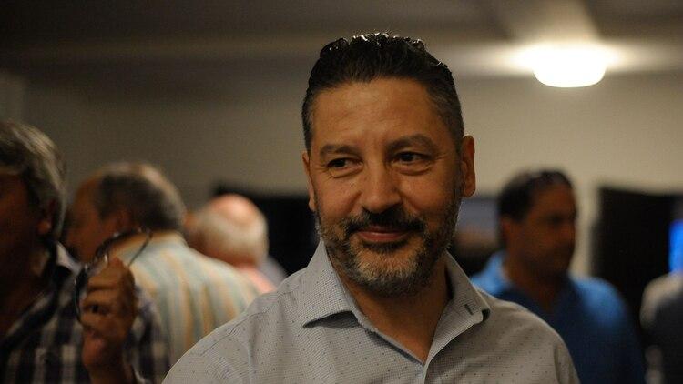 """El intendente de Merlo, Gustavo """"Tano"""" Menéndez"""