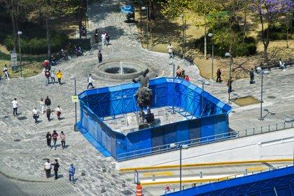 Bellas Artes. Ciudad de México. 6 de marzo de 2021.