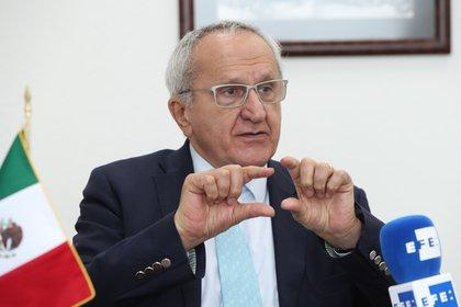 Jesús Seade Kuri participó en fechas recientes como candidato para dirigir en el siguiente periodo a la Organización Mundial del Comercio  (Foto: EFE/ Mario Guzmán)