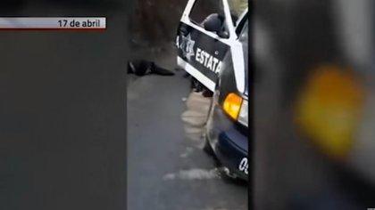 Policías emboscadosy asesinados por miembros del Cártel de Jalisco Nueva Generación (Foto: Especial)