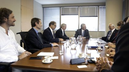 Alberto Fernández mantuvo un encuentro con Prado antes de asumir la presidencia