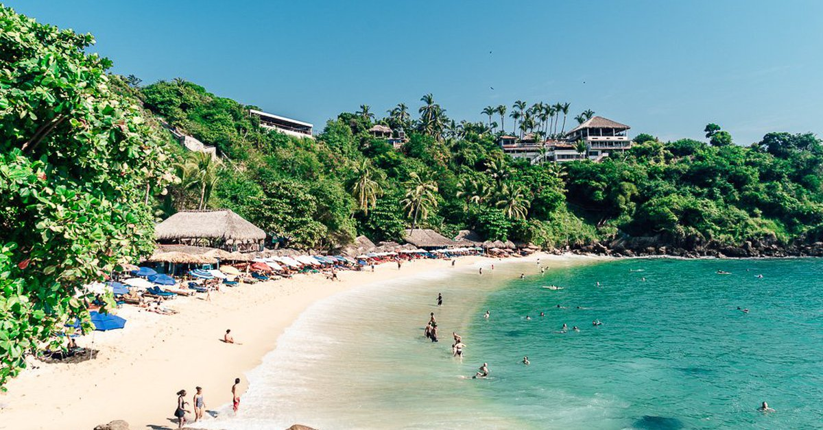 Due to the increase in Covid-19, the beaches of Oaxaca will be closed